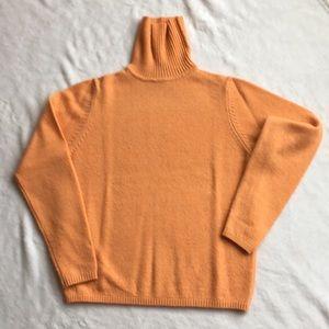 Woman's L.L. Bean Sweater Orange Size S